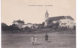 24 Dordogne - LE PIZOU - Vue Générale - 1917 - Frankreich