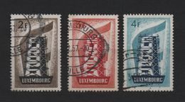 Luxembourg 1956 Europa, Used Mi 555/557 (Ref: 1419) - Luxembourg