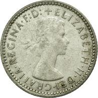 Monnaie, Australie, Elizabeth II, Sixpence, 1960, Melbourne, TTB, Argent, KM:58 - Monnaie Pré-décimale (1910-1965)