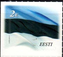 ESTONIA, 2018,MNH, FLAGS, 2018 REPRINT, 1v - Stamps