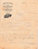 1932 - LE DORAT (87) - POISSONS DE MER De Toutes Sortes - F. VIROLLET - Documents Historiques