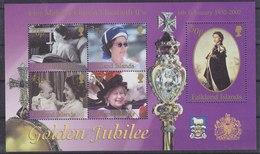 Falkland Islands 2002 Queen Elizabeth, Golden Jubilee M/s ** Mnh (41582C) - Falklandeilanden