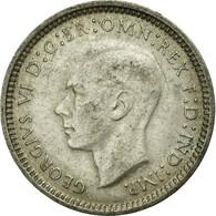 Monnaie, Australie, George VI, Threepence, 1948, Melbourne, TTB, Argent, KM:37a - Monnaie Pré-décimale (1910-1965)