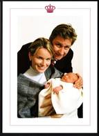 Photo De Prince Philippe, La Princesse Mathilde Avec La Princesse Elisaberh - Belgique