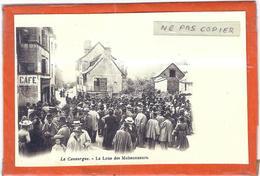 Lozere : La Canourgue, Reproduction Sur Papier Photo, La Loue Des Moissonneurs... - France
