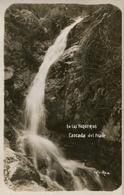 CASCADA DEL FRAILE EN LAS VAQUERIAS, CORDOBA, ARGENTINA. CIRCA 1929 POSTAL POSTCARD B/N TBE -LILHU - Argentinië
