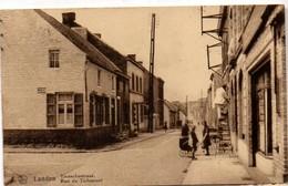 Landen Tiensestraat Rue De Tirlemont 1919 (?) A Oberge Morren Tirlemont Animatie Kinderwagen  - Ladder - Landen