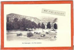 Lozere : La Canourgue, Reproduction Sur Papier Photo, Le Pré Commun... - France