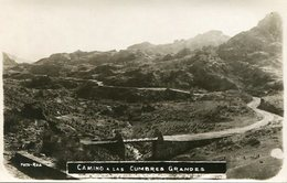 CAMINO A LAS CUMBRES GRANDES, CORDOBA, ARGENTINA. CIRCA 1929 POSTAL POSTCARD B/N TBE -LILHU - Argentinië