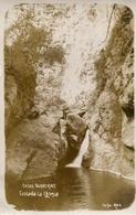 CASCADA LA IGLESIA EN LAS VAQUERIAS, CORDOBA, ARGENTINA. CIRCA 1929 POSTAL POSTCARD B/N TBE -LILHU - Argentinië