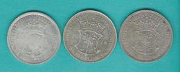 South Africa - George V - Half Crown / 2 ½ Shillings (KM19.1) 1928 (KM19.2) & 1932 (KM19.3) - Afrique Du Sud