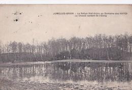 Carte 1910 JUMELLES BRION / LE RALLYE VIEL ANJOU AU DOMAINE DES HAYES / LA CHASSE - France