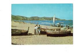 Cpm - Spain Cullera (Valencia) - Plage De Saint Antoine - Bateau Pêche - Valencia