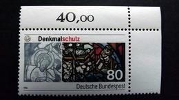 Deutschland BRD 1291 **/mnh, Zum Teil Restaurierte Mittelalterliche Glasmalerei Im Dom St. Peter Zu Regensburg - [7] Federal Republic