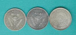 George V - 3 Pence - 1923 (KM15a) 1926 (KM15.1) 1933 (KM15.2) - Afrique Du Sud