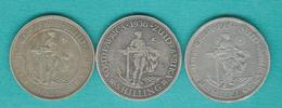 George V - 1 Shilling - 1923 (KM17.1) 1930 (KM17.2) 1934 (KM17.3) - Afrique Du Sud