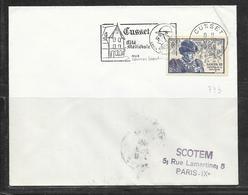 LOT 1812155 - N° 743 SUR LETTRE DE CUSSET DU 06/12/66 POUR PARIS - 1961-....