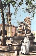 Afrique ALGERIE  SETIF Echappée Sur La Fontaine Et La Mosquée (Editions COMBIER CIM 1002  Collection Pignella)*PRIX FIXE - Sétif