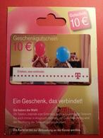 GERMANY - T Gutschrift - MUSTER 10 Euros - Deutsch Telecom DEMO TEST TRIAL CADEAU GIFT CARD (SACROC) - Cartes Cadeaux