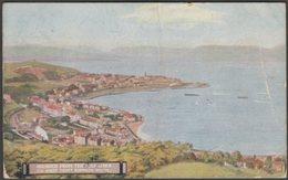 Gourock From The Golf Links, Renfrewshire, 1909 - McCorquodale & Co Postcard - Renfrewshire