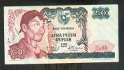 * INDONESIA - 50 RUPIAH 1968 AU - P 107 - Indonesia