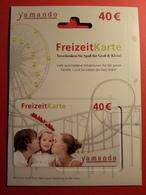 GERMANY - YAMANDO FreizeitKarte - MUSTER 40 Euros - DEMO TEST TRIAL CADEAU GIFT CARD (SACROC) - Gift Cards