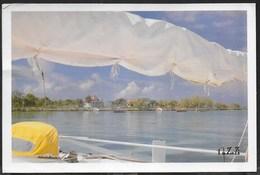 REPUBBLICA DOMINICANA - BAYAHIBE - VIAGGIATA 1991 FRANCOBOLLO ASPORTATO - Cartoline