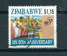 1995 Zimbabwe $1.15 UN 50 Years Used/gebruikt/oblitere - Zimbabwe (1980-...)