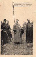 POIRE Sur VIE   -  Monseigneur Gendreau Devant Le Feu De Joie Pres De Son Village Natal - 1930 - Poiré-sur-Vie