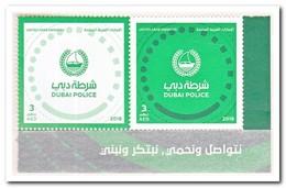 Verenigde Arabische Emiraten 2018, Postfris MNH, Start Of The New Dubai Police Corporate Identitiy - Verenigde Arabische Emiraten