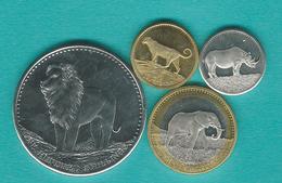 2013 - 5, 10, 50 & 100 Shillings - Somalie