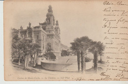 CPA - CASINO DE MONTE CARLO - LE THEATRE - N. D. - 548 - PRECURSEUR - Monte-Carlo