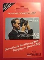 SWITZERLAND - BOLEX SUISSE - MUSTER 100 CHF - DVD VIDEO DEMO TEST TRIAL CADEAU GIFT CARD (SACROC) - Cartes Cadeaux