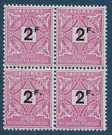 DAHOMEY -  Taxe 17a ** + 17 X 3  ** -- Cote : 58,80 € - Dahomey (1899-1944)