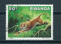 1987 Rwanda  Animals,fauna,dieren,tiere Used/gebruikt/oblitere - Ruanda