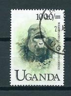 1999 Uganda Animals,fauna,dieren,tiere,gorilla Used/gebruikt/oblitere - Uganda (1962-...)