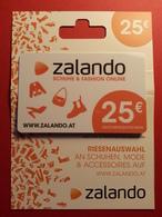OSTERREICH - ZALANDO - MUSTER 25 Euros - DEMO TEST TRIAL CADEAU GIFT CARD (SACROC) - Cartes Cadeaux