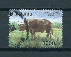 2004 Tanzania Animals,fauna,dieren,tiere,buffel Used/gebruikt/oblitere - Tanzania (1964-...)