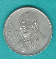 1 Peso - 1950 - José Morelos - KM457 - Mexico