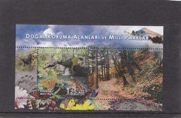 Turkey 2015 National Park   S/s  MNH** - Nuevos