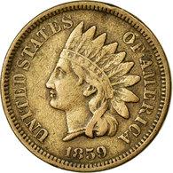Monnaie, États-Unis, Indian Head Cent, Cent, 1859, U.S. Mint, Philadelphie - Federal Issues