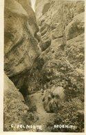 GRUTAS DE ONGAMIRA EN CAPILLA DEL MONTE, CORDOBA, ARGENTINA. CIRCA 1929 POSTAL POSTCARD B/N TBE -LILHU - Argentinië