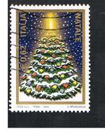 ITALIA REPUBBLICA  -  2004  NATALE - USATO ° - 6. 1946-.. Repubblica