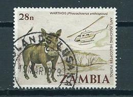 1978 Zambia Animals,fauna,dieren,tiere Used/gebruikt/oblitere - Zambia (1965-...)