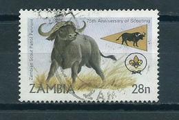 1982 Zambia Animals,fauna,dieren,tiere Used/gebruikt/oblitere - Zambia (1965-...)
