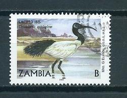 2001 Zambia Birds,oiseaux,vögel Used/gebruikt/oblitere - Zambia (1965-...)