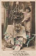 Carte Postale Ancienne Fantaisie - Joyeux Nöel - Enfant - Jouets - Weihnachten