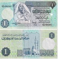 Libye 1 Dinar - Libië