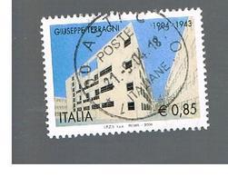 ITALIA REPUBBLICA  -  2004    G. TERRAGNI        - USATO ° - 1946-.. République
