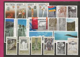 ZARMan92+3 - ARMENIE - 2 Années Complètes 1992 + 1993 - Soit 21 Timbres Neufs** MNH - Belle Côte - Arménie
